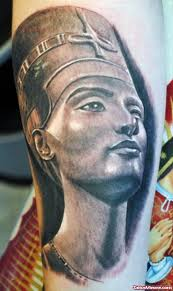 grey ink ancient egyptian tattoo on sleeve tattoo viewer com