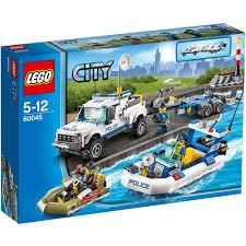 lego police jeep lego city 60045 police patrol mattonito