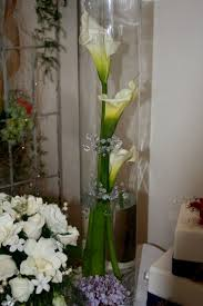 wedding reception centerpieces calla lilies decorating of party