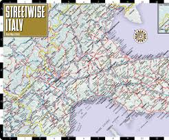 Venice Vaporetto Map Streetwise Italy Map Laminated Country Road Map Of Italy