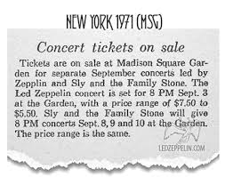 led zeppelin celebration day box set amazon black friday madison square garden september 3 1971 new york led