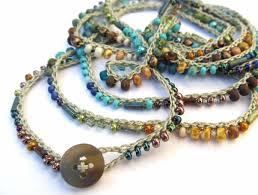 beaded bracelet crochet images Crochet beaded bracelets knitting pinterest crochet beaded jpg