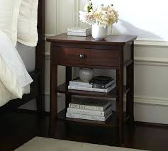 pottery barn bedside table nightstand tall bedside tables night stands cheap pottery barn