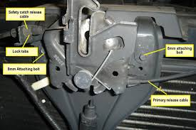 Ford Explorer Hood Latch - how to remove a ford f150 hood latch ehow uk