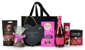 luxury gift baskets luxury gifts personalised gifts hanging slate gift for