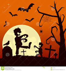 halloween night background halloween night with zombies stock image image 34282661