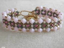 beading bracelet images Beading bracelet tutorial beaded bracelet pattern peek a boo etsy jpg