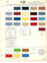 paint chips 1977 buick century lesabre electra riviera skylark
