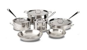 black friday pots and pans set amazon com all clad 401488r stainless steel tri ply bonded