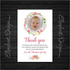 baptism thank you wording 21 christening thank you cards free printable psd eps