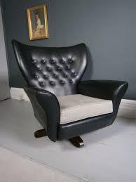 60s Style Furniture Vintage Retro Mid Century Swivel Tilt Wingback Armchair G Plan