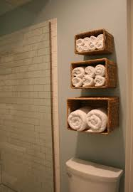 Where To Hang Towels In Small Bathroom 20 Insanely Clever Organization U0026 Storage Tricks Brit Co