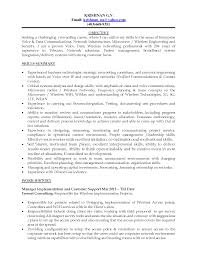 Best Resume Network Engineer by Resume Format For Hardware Networking Engineer