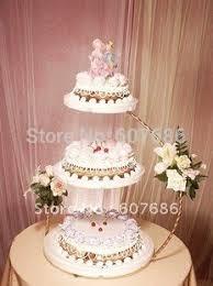 3 tier wedding cake stand aliexpress buy 3 tier iron wedding cake stand 30 60cm