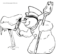 printable winter coloring pages kids u003e u003e disney coloring pages