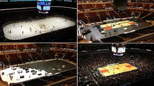 ice to hardwood united center photo timelapse youtube