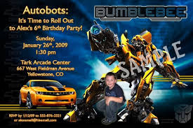 transformer birthday transformer birthday invitations badbrya