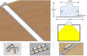 led strip lights linkable 24w 36w 48w 60w linear recessed led ceiling light strip fixtures led