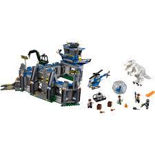 Dominus Bathroom Accessories by Lego Jurassic World Indominus Rex Breakout Walmart Com