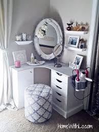 Makeup Tables For Bedrooms Awesome Bedroom Makeup Vanity Pictures Home Design Ideas