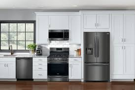 leaded glass kitchen cabinets kitchen delightful painted kitchen cabinets with black appliances
