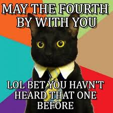 May The Fourth Be With You Meme - may the fourth by with you business cat meme on memegen
