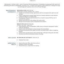 resume exle for resume excel skills therpgmovie