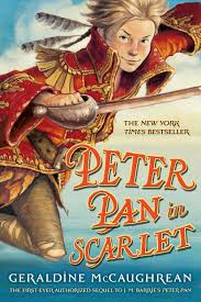peter pan scarlet book geraldine mccaughrean scott