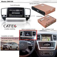 mercedes usa accessories buy car gps navigation for mercedes m class w166 ml250 ml350