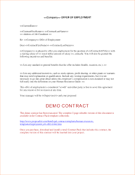 offer letters for employment sample employment confirmation letter