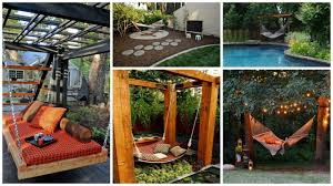 12 hammock ideas for your backyard relaxation area