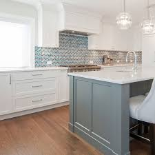 what tile goes with white cabinets 75 blue backsplash ideas navy aqua royal or coastal