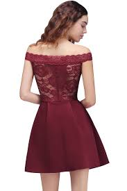 aliexpress com buy 2018 cheap burgundy lace off the shoulder