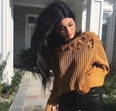 jenner sweater sweater jenner brown sweater cropped sweater