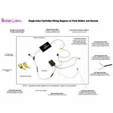 value series single color touring bagger motorcycle led light kit