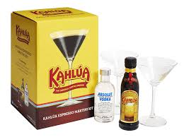chocolate espresso martini kahlua espresso martini kit 2 x 20 cl amazon co uk grocery