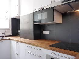 Tableau Noir Et Blanc Ikea by Cuisine Ikea Blanche Et Bois Ikea Cuisine Plan Travail Une Grande