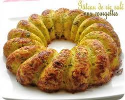 recette de cuisine salé gâteau de riz salé aux courgettes cuisine et dépendances
