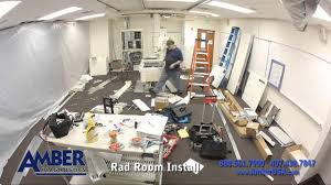 installing a radiology room in 90 seconds youtube