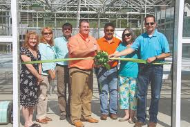native plant center tribe officially opens native plant nursery facility the