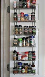 Spice Rack Pantry Door Organizing The Kitchen Pantry I Dream Of Clean Organized Simple