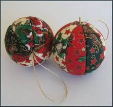 ornament made from fabric yo yos a team crafts