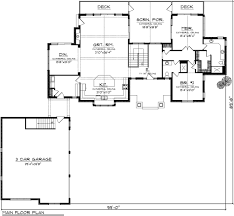 ranch floor plans with 3 car garage ranch style house plan 2 beds 3 00 baths 2196 sq ft plan 70 1137
