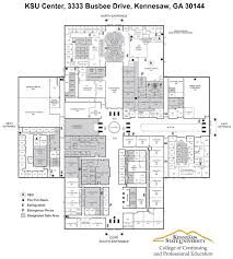 Student Center Floor Plan by Directions College Of Continuing And Professional Education