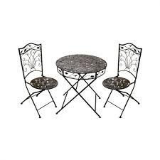 White Metal Patio Furniture - vintage metal outdoor patio tulip chairs outdoor metal patio arm