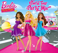 facebook themes barbie barbie world tour party mix various artists songs reviews
