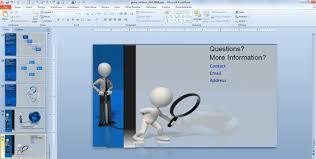 last slide in a powerpoint presentation