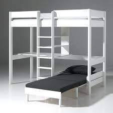 bureau surélevé mezzanine avec canape lit enfant sureleve blanc avec bureau et