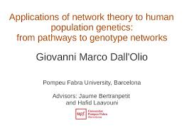 Reference Page On Resume Thesis Defence Of Dall U0027olio Giovanni Marco Applications Of Network T U2026