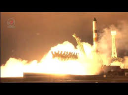 launch of a soyuz 2 1a launch vehicle with progress ms 02 youtube